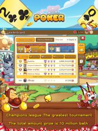 Dummy & Toon Poker Texas slot Online Card Game screenshot 7