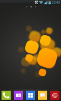 Theme Windows 8 GoLauncherEx Screen