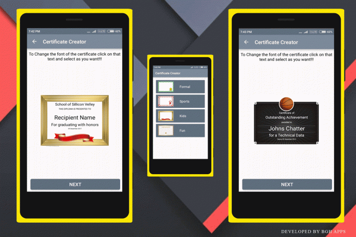 certificate creator 1 0 download apk for android aptoide