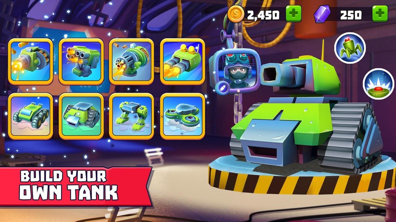 Tanks A Lot! - Realtime Multiplayer Battle Arena screenshot 2