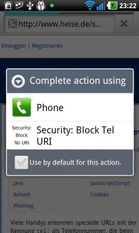 Security: Block Tel URI 1 0 Download APK for Android - Aptoide
