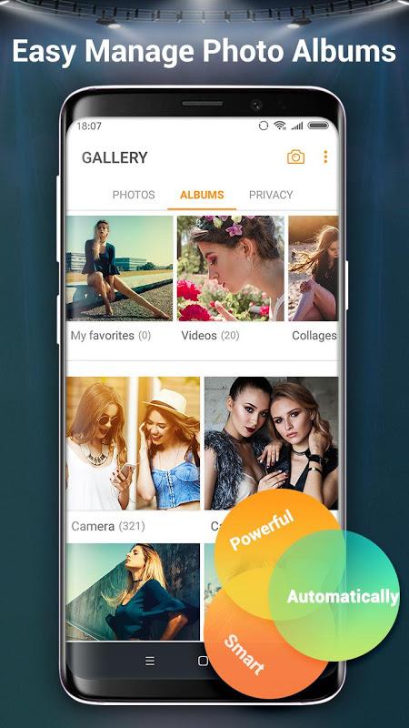 Galeria de fotos e álbum screenshot 1