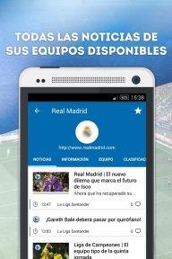 Fichajes fútbol: mercado, resultados, directo screenshot 4