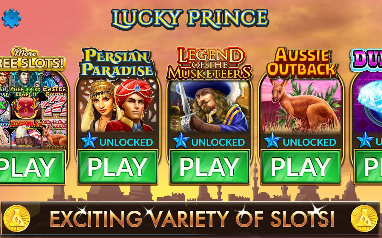 Lucky Prince Slots screenshot 2
