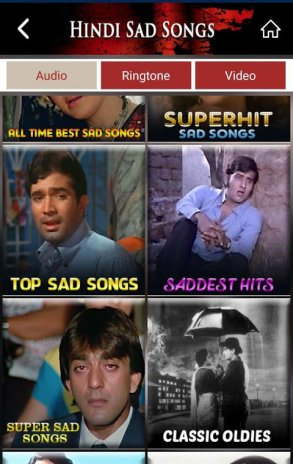 hindi sad song gane