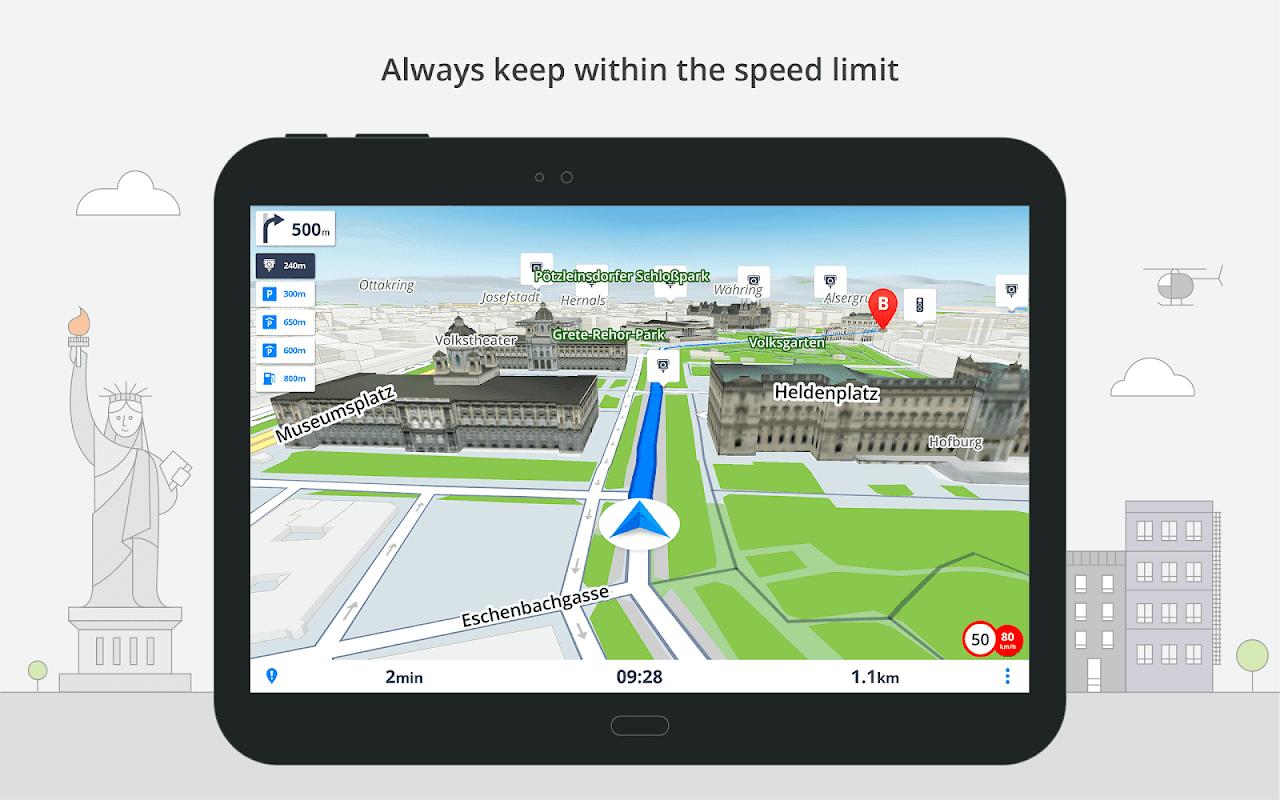 GPS Navigation & Maps Sygic screenshot 6