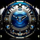 Mavis Luxury Clock Widget