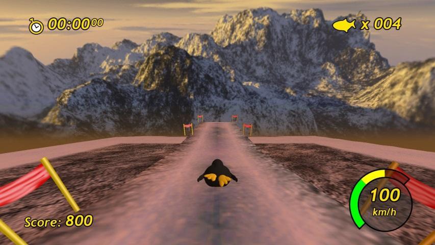 Tux Racer screenshot 1
