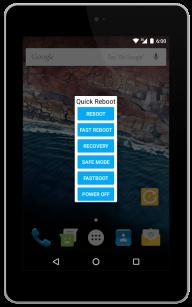 Quick Reboot Pro [ROOT] screenshot 1