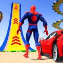 Superhero GT Car Stunt Racing: Mega Ramp Top Games