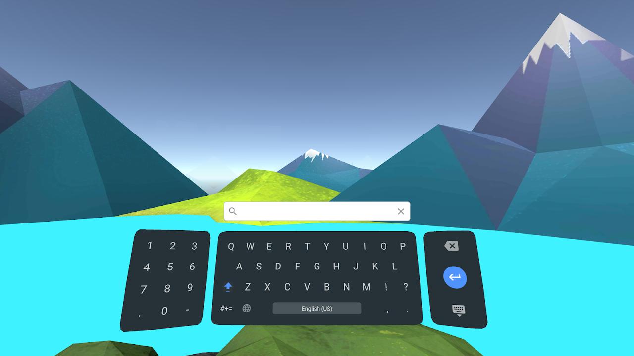 Daydream keyboard screenshot 2