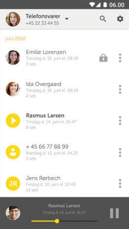 dating voicemail besked