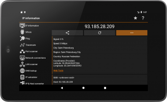 IP Tools: Network utilities Screenshot