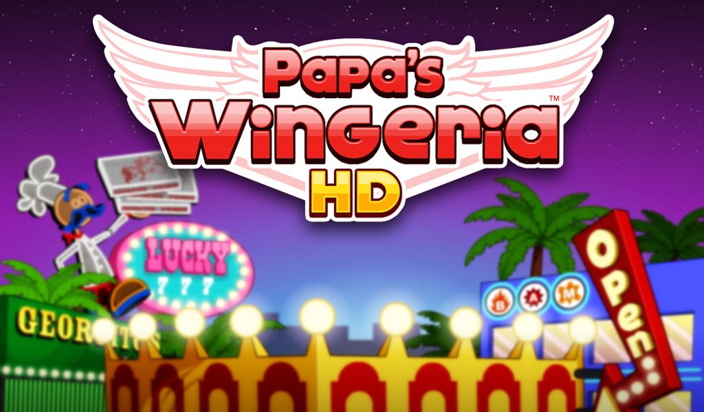 Papa's Wingeria HD screenshot 1
