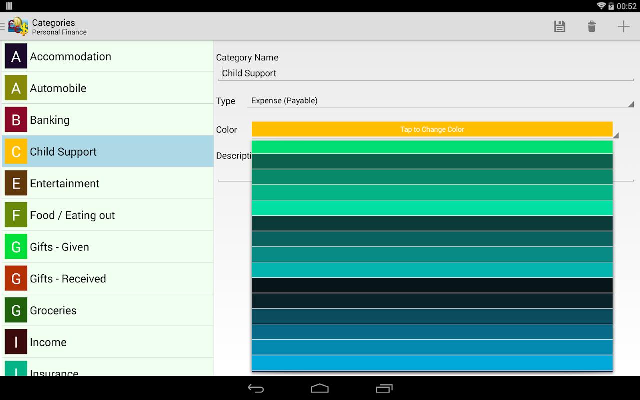 Just Money - Expense Manager screenshot 2