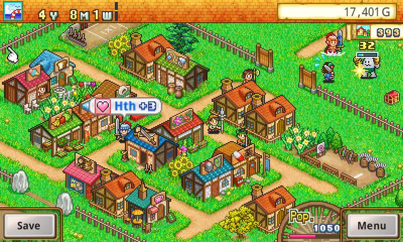 Dungeon Village Lite screenshot 1
