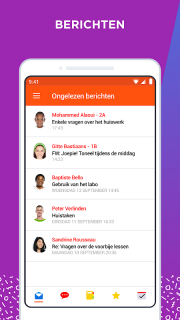 Smartschool screenshot 2