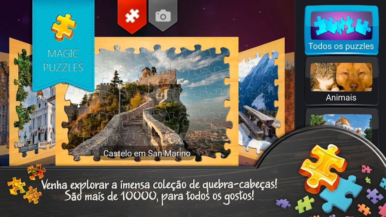 O quebra-cabeça mágico screenshot 2