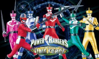 Power Rangers: Time Force Screen