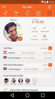 tikki - Cheap International Calling screenshot 2