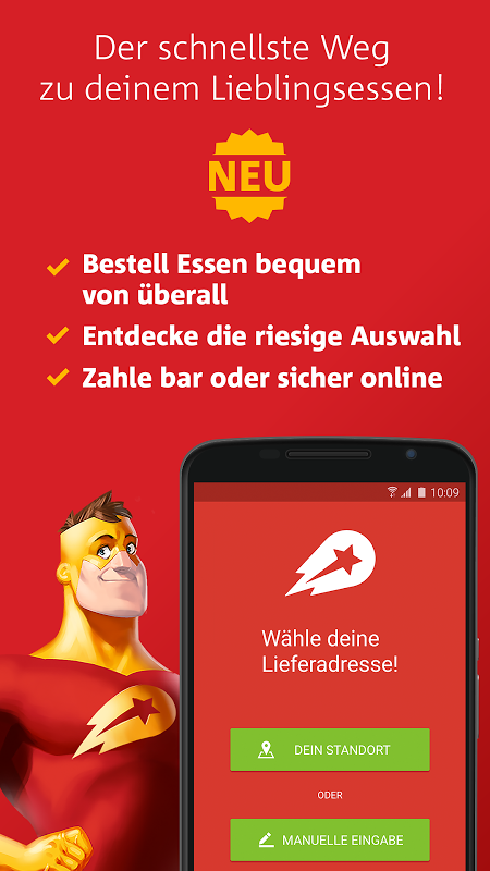 Lieferheld | Essen bestellen screenshot 1