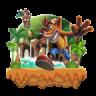 Icône Super Bandicoot: Lost Jungle