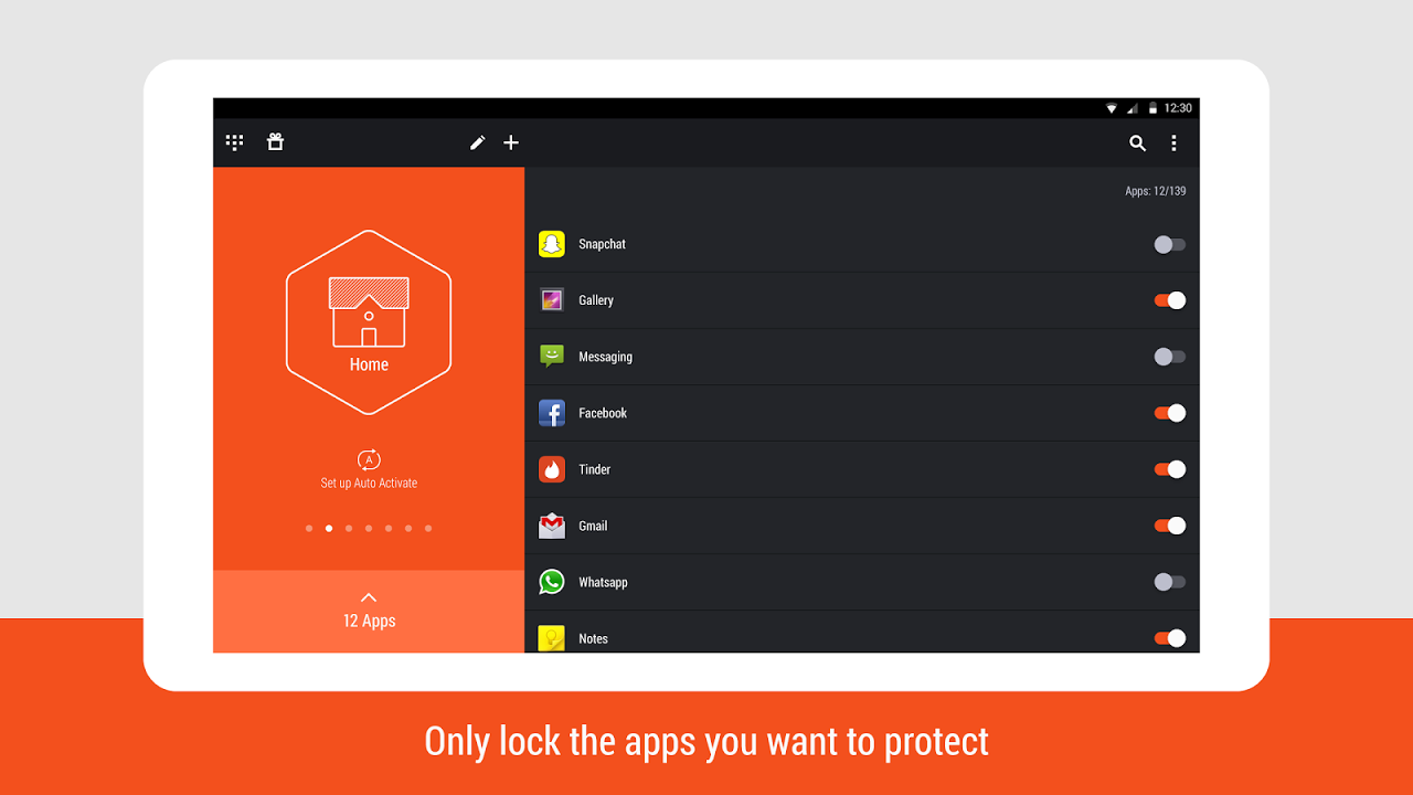 Hexlock - Lock & Protect Apps screenshot 2