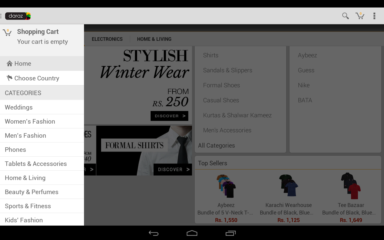 Daraz Online Shopping App screenshot 2