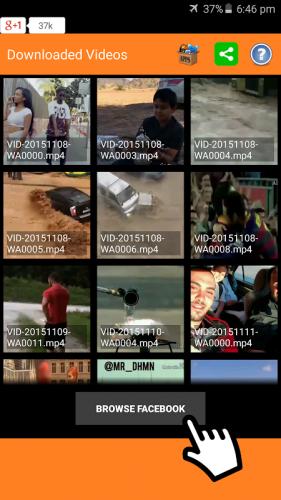 Video Downloader für Facebook screenshot 4
