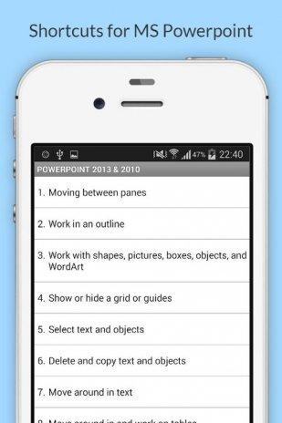 free ms office 2013 shortcuts 1 4 4 descargar apk para android aptoide