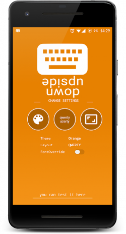 Upside Down Text Keyboard 1 0 Download APK for Android - Aptoide