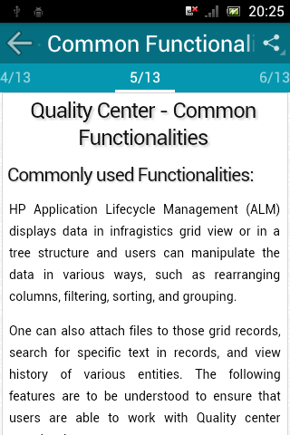 Learn QC (HP Quality Center) screenshot 3