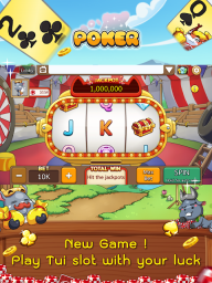 Dummy & Toon Poker Texas slot Online Card Game screenshot 9