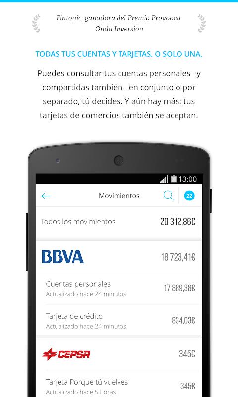 Fintonic - Finanzas Personales screenshot 2