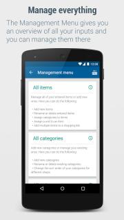 Shopping List - Lister screenshot 3