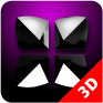 next launcher theme pink magic icon