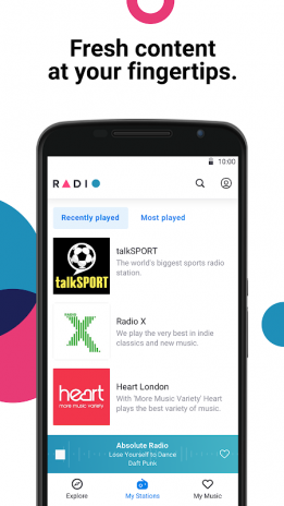 Radio by Deezer: FM Stations & Online Radio Player 1 1 1 Download