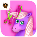 Pony Sisters in Hair Salon