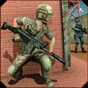 US Commando Robot Shooting Survival Battlegrounds