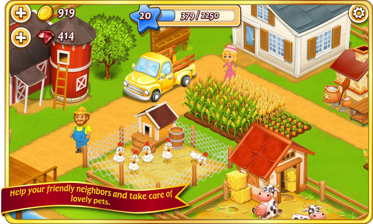 Magic Hay Farm screenshot 2