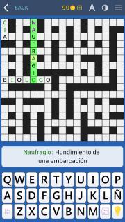 Crosswords - Spanish version (Crucigramas) screenshot 9