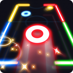 finger glow hockey apk download