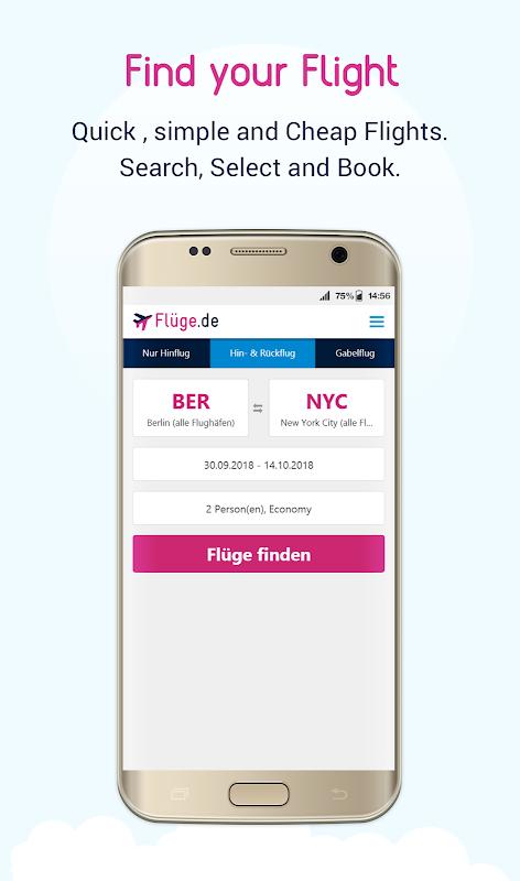 Flüge.de screenshot 2