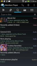 meridian player screenshot 2