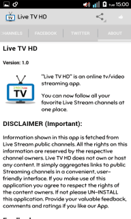 Live TV HD Pro screenshot 4