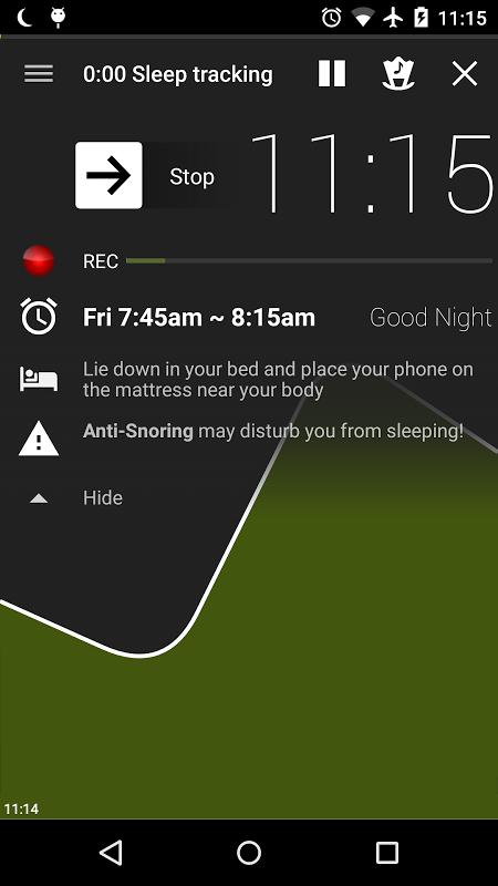 Sleep as Android screenshot 27