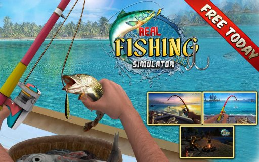 Reel Fishing Simulator 2018 - Ace Fishing screenshot 10