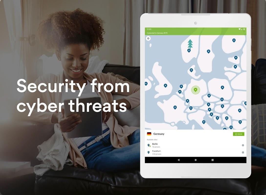 NordVPN: Best VPN Fast, Secure & Unlimited screenshot 1