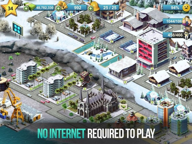 City Island 4 Town Simulation