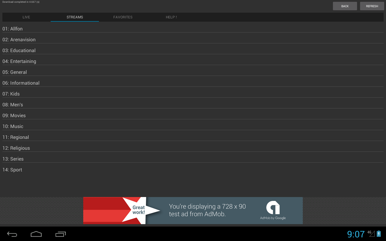 Sport Schedule screenshot 2